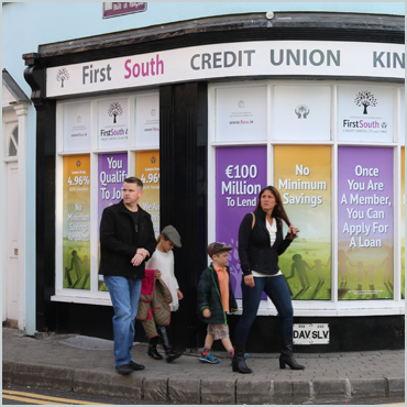First South Credit Union (Kinsale) Window Display Project Thumbnail