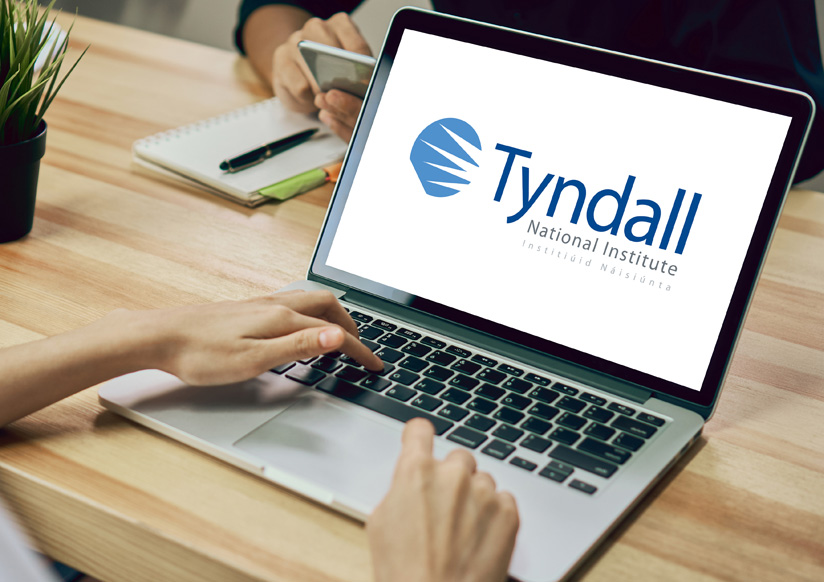 Tyndall graphic design work