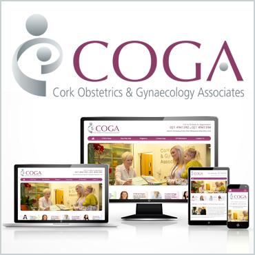COGA Website Project Thumbnail